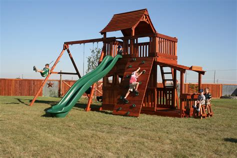 good quality swing sets best wooden swing set wood playset denver