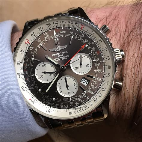 breitling bentley on wrist breitling on wrist