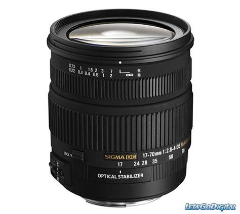 Lensa Sigma Wide Angle angular lens