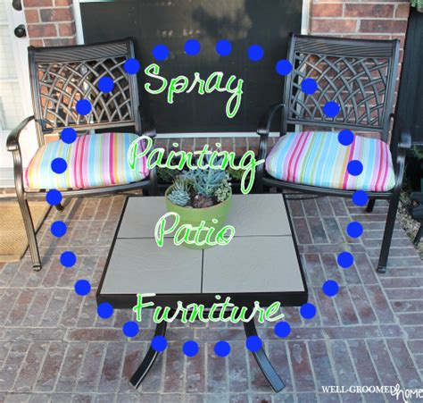 painting patio furniture painting patio furniture well groomed home