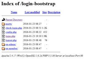 membuat form login bootstrap belajar php belajar bootstrap membuat form login dengan bootstrap dan php onphpid