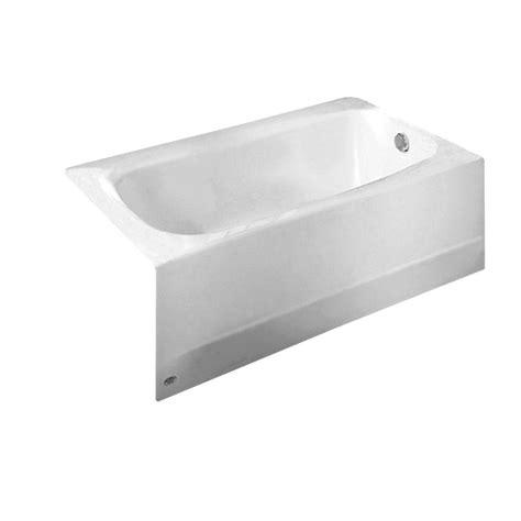 american standard bathtub drain american standard cambridge 5 ft x 32 in right drain
