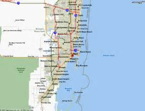 map of miami fl