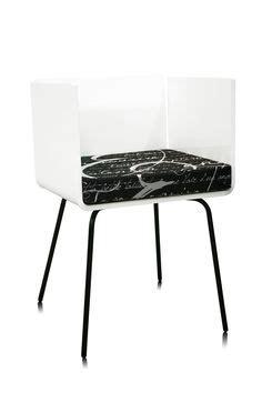 Chaise Blanche 343 by Mobilier Design Mobilier Personnalis 233 Meubles Plexiglas