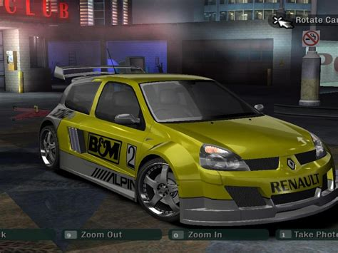 renault clio v6 nfs carbon renault clio v6 need for speed carbon rides nfscars