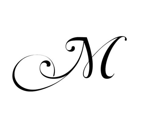 tattoo design with letter m fancy cursive letter m imgbucket com bucket list in