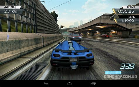 speed android need for speed most wanted на android обзор игры рецензия