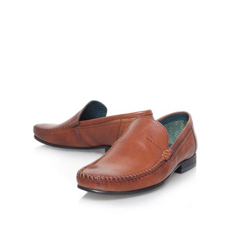 ted baker mens loafers ted baker simeen2 loafer in brown for lyst