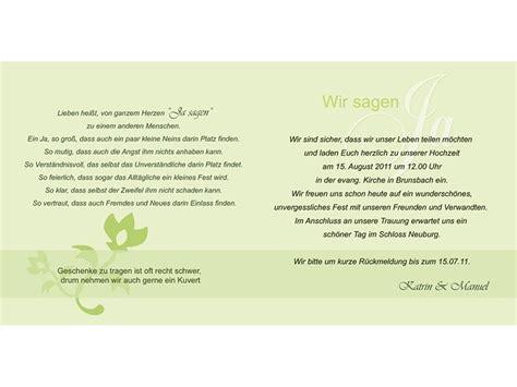 Hochzeit Einladung Spruch by Hochzeitskarte Hochzeitseinladung Einladung Hochzeit