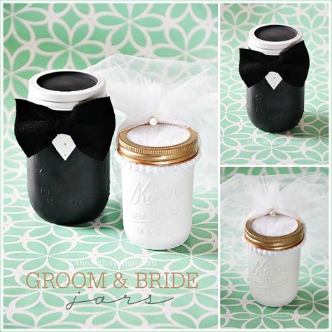 Wedding Gift Jars by The 36th Avenue Jar Crafts Groom The