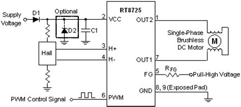 En Single Phase Ac Voltage Sensor Module 1 rt8725 single phase bldc fan driver ic richtek technology