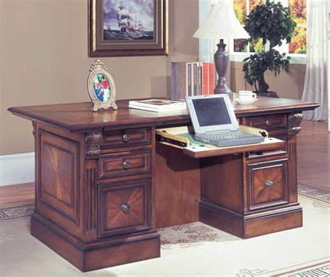 executive office desks for home wood executive desk collections