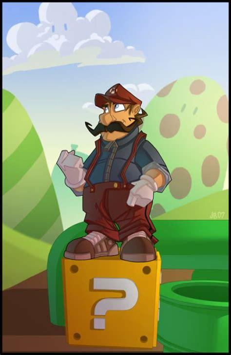 Mario Bros 41 mario brothers artworks 187 xenomorph