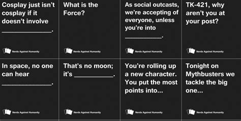 Custom Cards Against Humanity Template by Your Cards Against Humanity Deck Just Got Nerdier