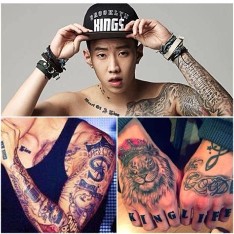 jay park tattoo vote which k pop looks best with tattoos soompi