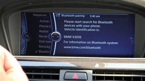 connect with your bmw pairing your bluetooth phone with the bmw idrive system