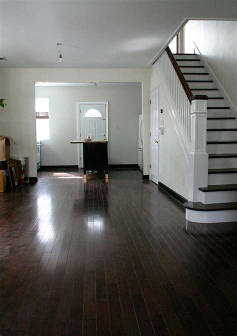 White Baseboards With Wood Floors by Cottage Update Archives Design Manifestdesign Manifest