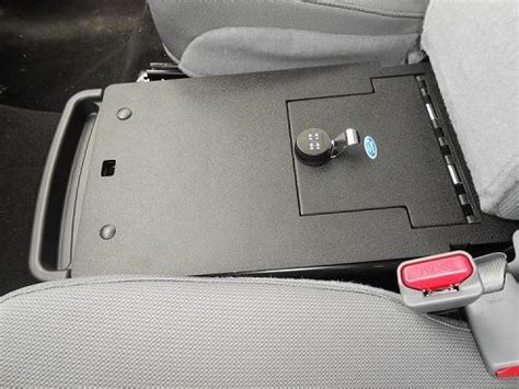 car seat gun safe console vault ford f150 the middle seat console 2011