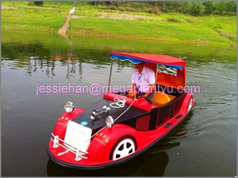 boat powered by car fiberglass electric powered car boat for sale buy