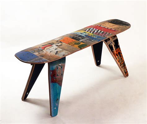 skateboard furniture cool and masculine skateboard furniture chair seating