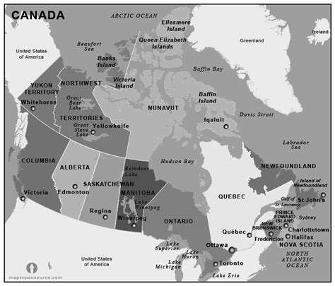 white canada map canada country profile free maps of canada open source
