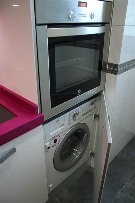 como instalar una lavadora integrable en la cocina blogs