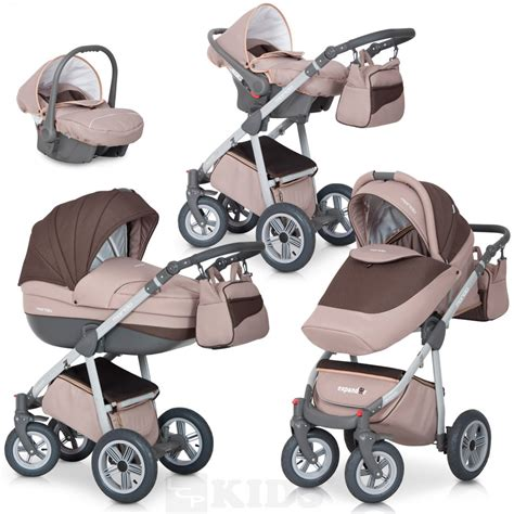 Set 3in1 1 kinderwagen kombi set 3in1 mondo greyline babyschale wanne buggy schenkraeder ebay