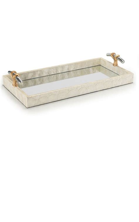 mirrored ottoman tray 9 best images about mirror trays on pinterest luxury