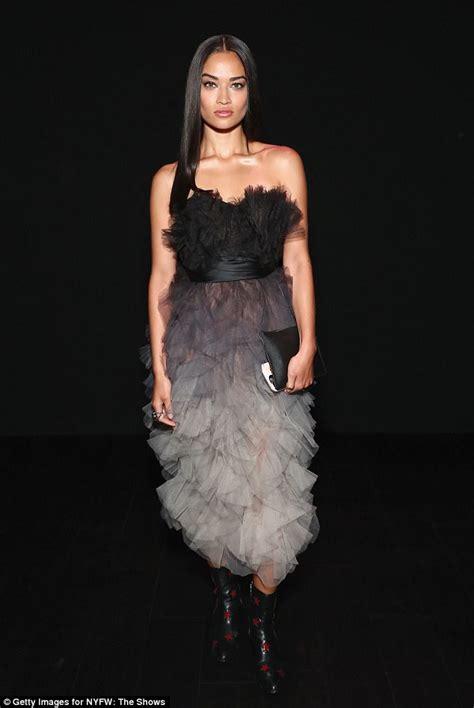 Frock Horror Of The Week Catwalk 8 by Shanina Shaik Wears Bold Dress As She Wraps Up Nyfw