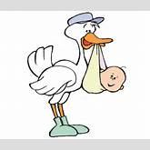 Delivery Stork And Baby Outline Clipart Cliparthut Free Clipart