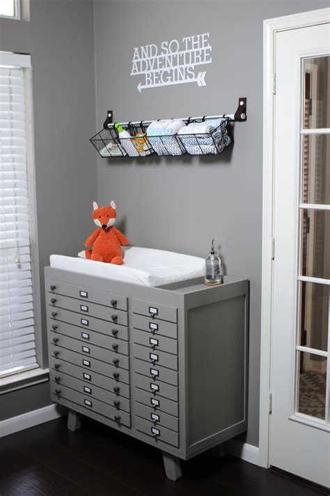 Build A Changing Table Baby Changing Table Diy Build Gray House Studio
