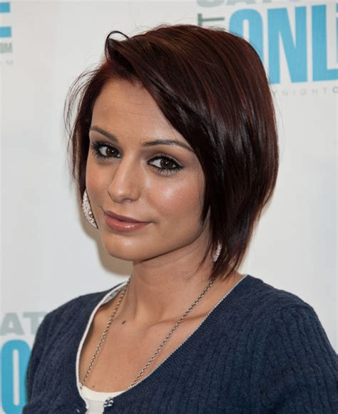 women haircuts with cowlick cher lloyd graduated layered bob