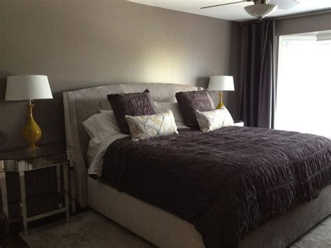 master bedroom retreat in shades of grey plum new