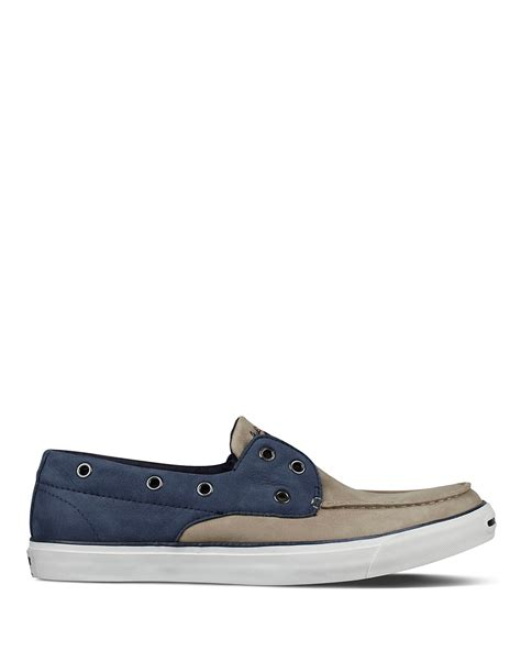 converse loafers converse purcell boat shoe loafers bloomingdale s