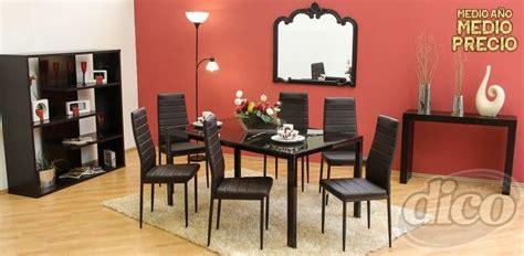 muebles dico comedor de  sillas  promodescuentoscom