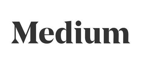 www medium medium s new logo a review words for life medium
