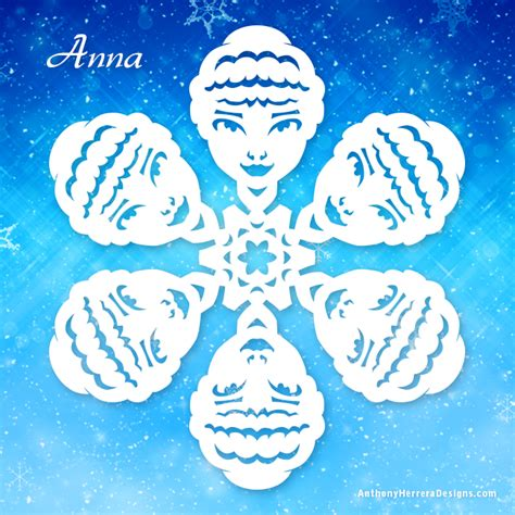 frozen snowflake template frozen snowflakes anthony herrera designs