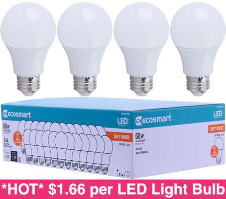 led light bulbs at home depot 1 66 per led light bulb free