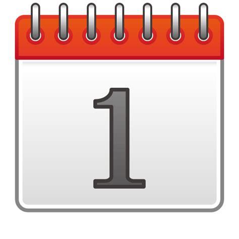 Calendar Emoji Spiral Calendar Pad Emoji For Email Sms Id