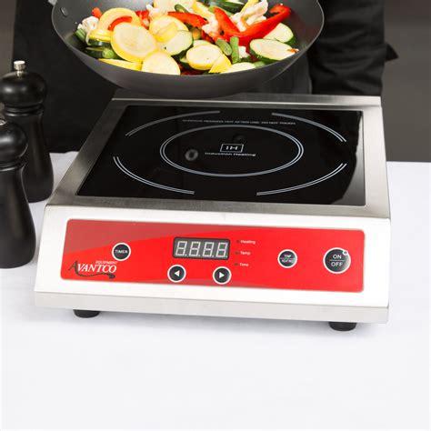 Countertop Induction Cooker - avantco ic3500 countertop induction range cooker 208
