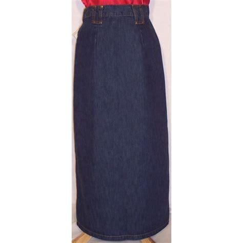 modest denim jean skirts for apostolic clothing