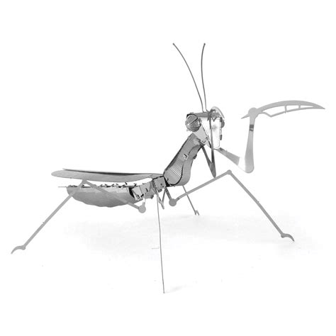 metal earth praying mantis  laser cut bug metal models gifts   innovatoys metal