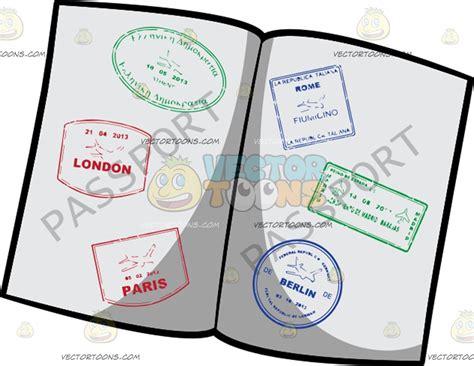 Passport By Passport passport clipart by vector
