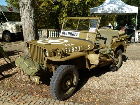 Lu Jeep willy s jeep bei den luxembourg classic days in mondorf am