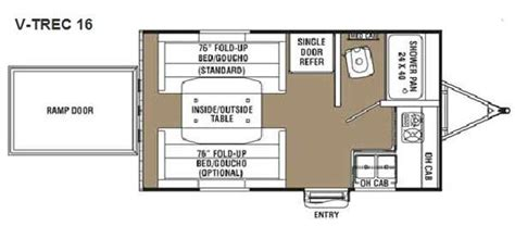 cargo trailer conversion floor plans cargo trailer conversion floor plans 7x16 autos post