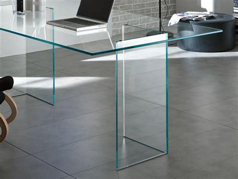 Tonelli Bacco Glass Desk Glass Desks Home Office Glass Office Desks Uk