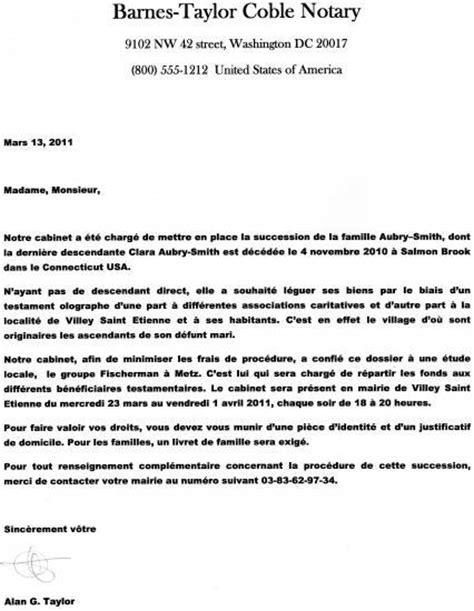 Lettre De Motivation Ecole Notaire Lettre Notaire Lettre De Motivation 2017