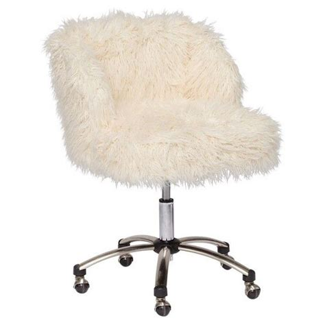 white fluffy desk chair the s catalog of ideas
