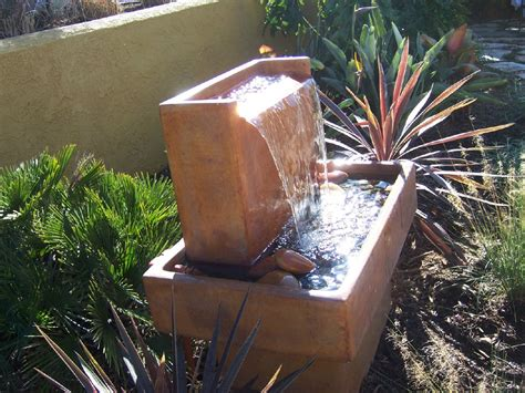 modern water fountain the 2 minute gardener photo modern water fountain