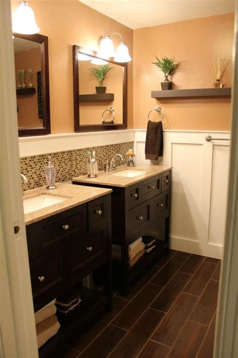Bathroom With Two Vanities by Separate Vanity Bathroom Master Bed Bath Makeover